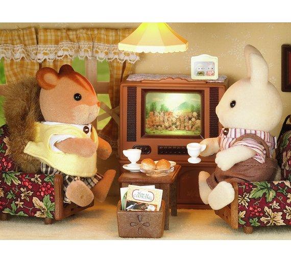 sylvanian families deluxe tv set6099871 - Sylvanian Families Living Room Set