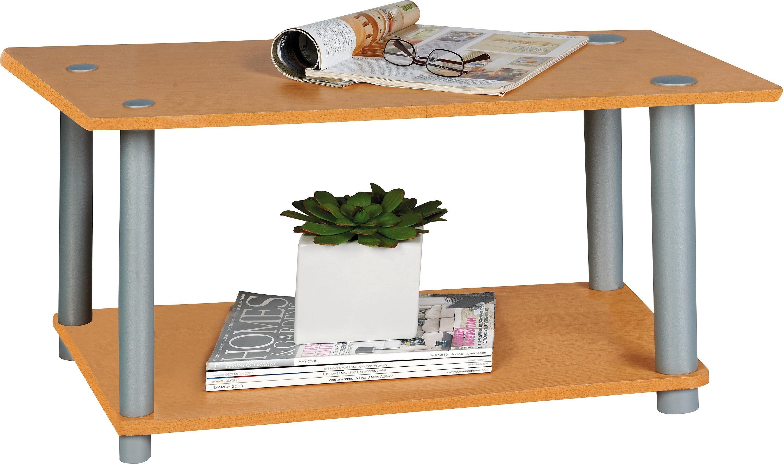 buy home verona 1 shelf coffee table - beech effect at argos.co.uk