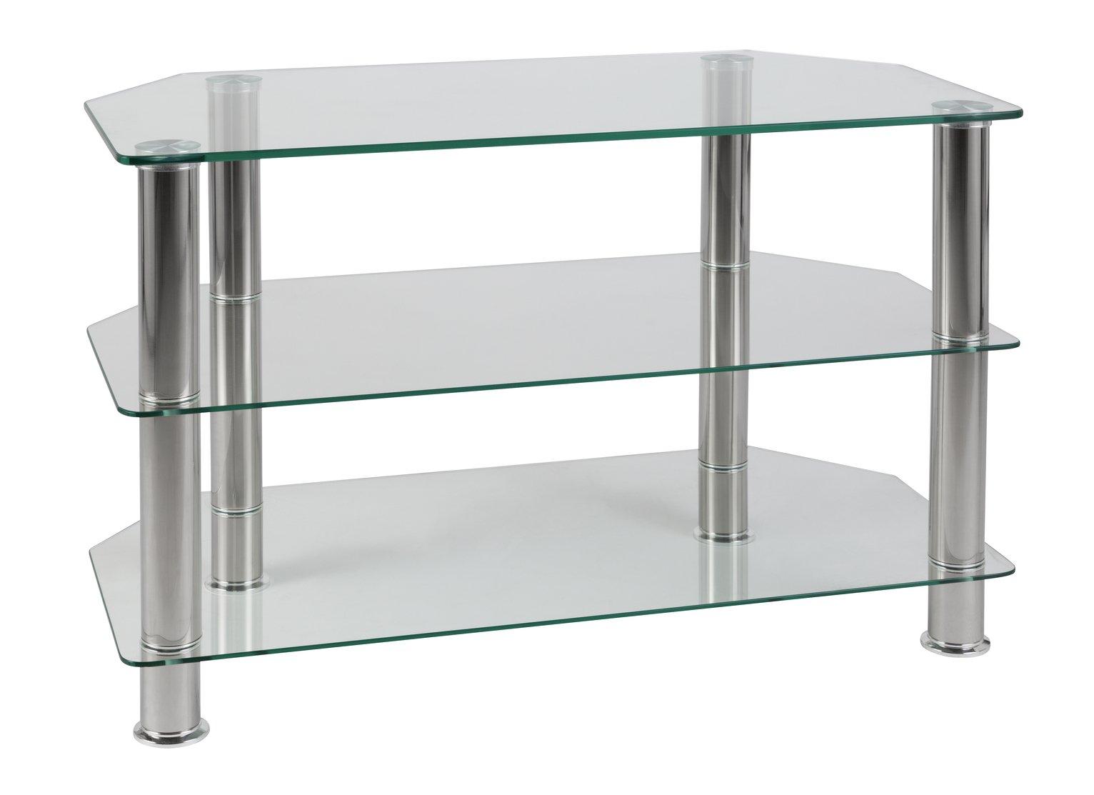 Argos Home Matrix Glass Corner TV Unit