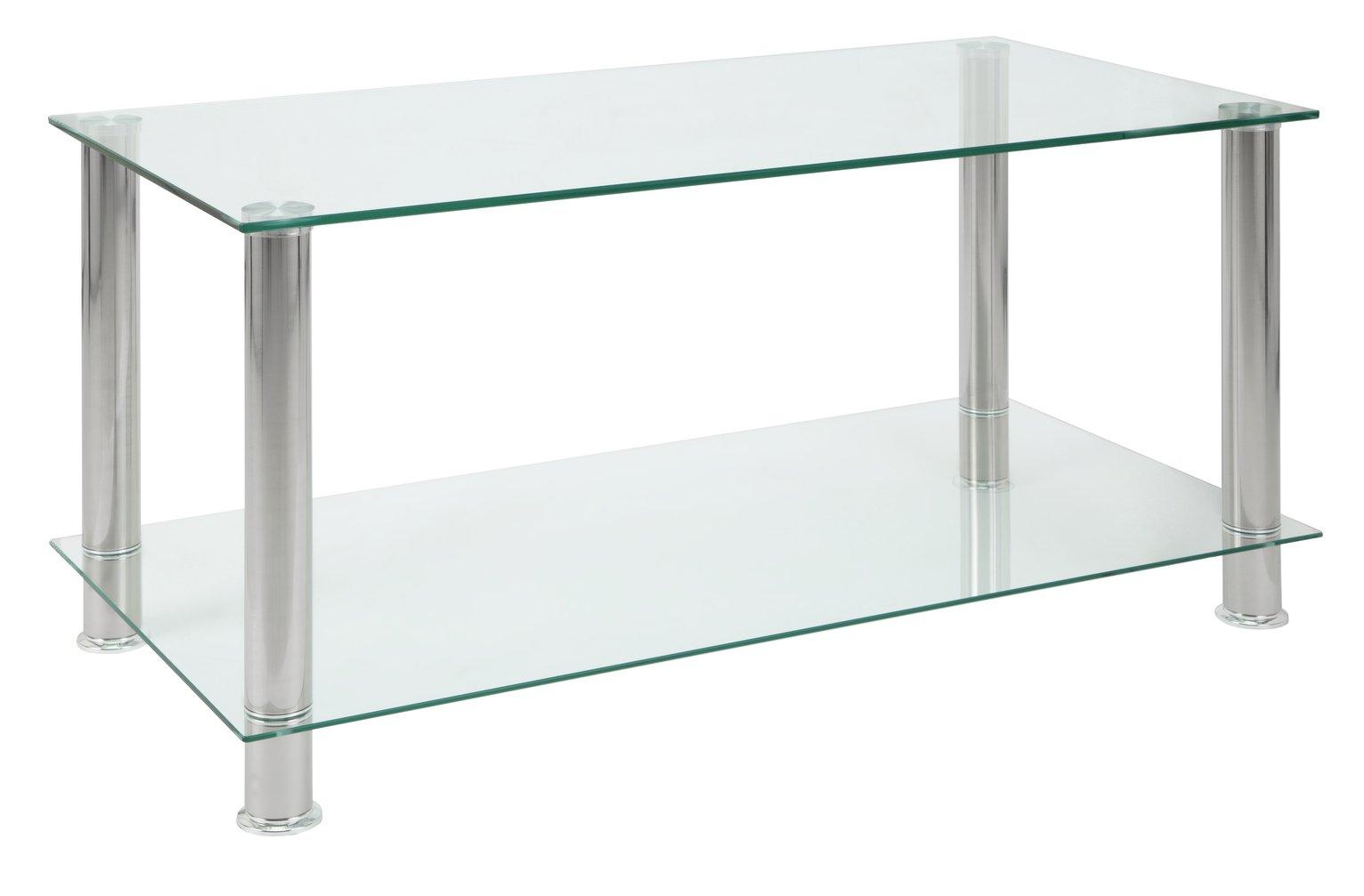 Argos Home Matrix Glass Coffee Table