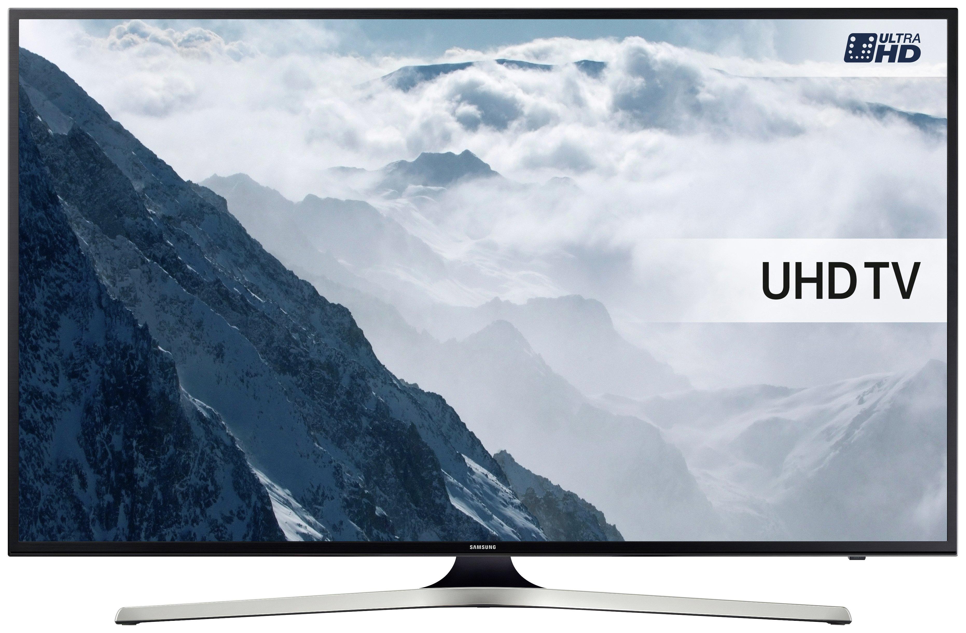 Samsung 55KU6020 55 Inch Ultra HD Smart LED TV.