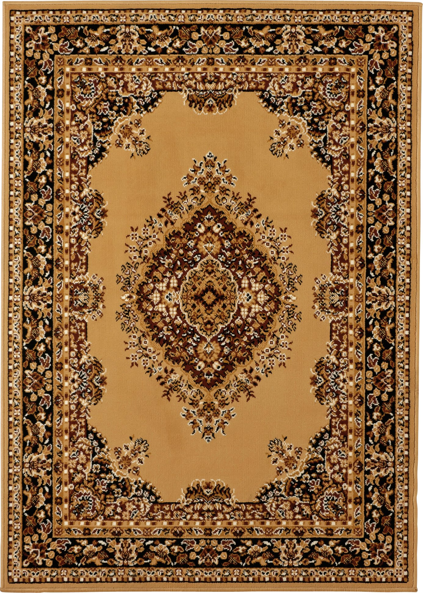 HOME Bukhura Traditional Rug - 160x230cm - Cream