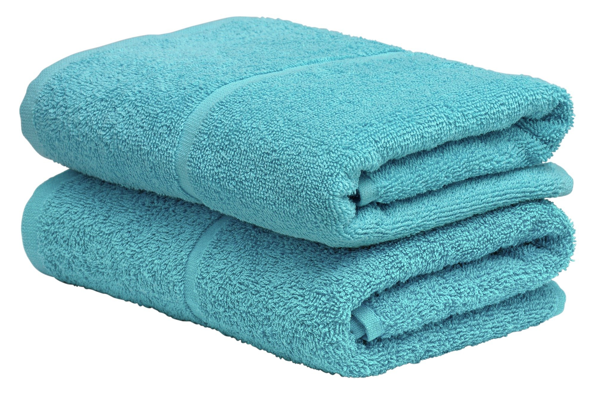 Argos Home Pair of Hand Towels - Crystal Blue