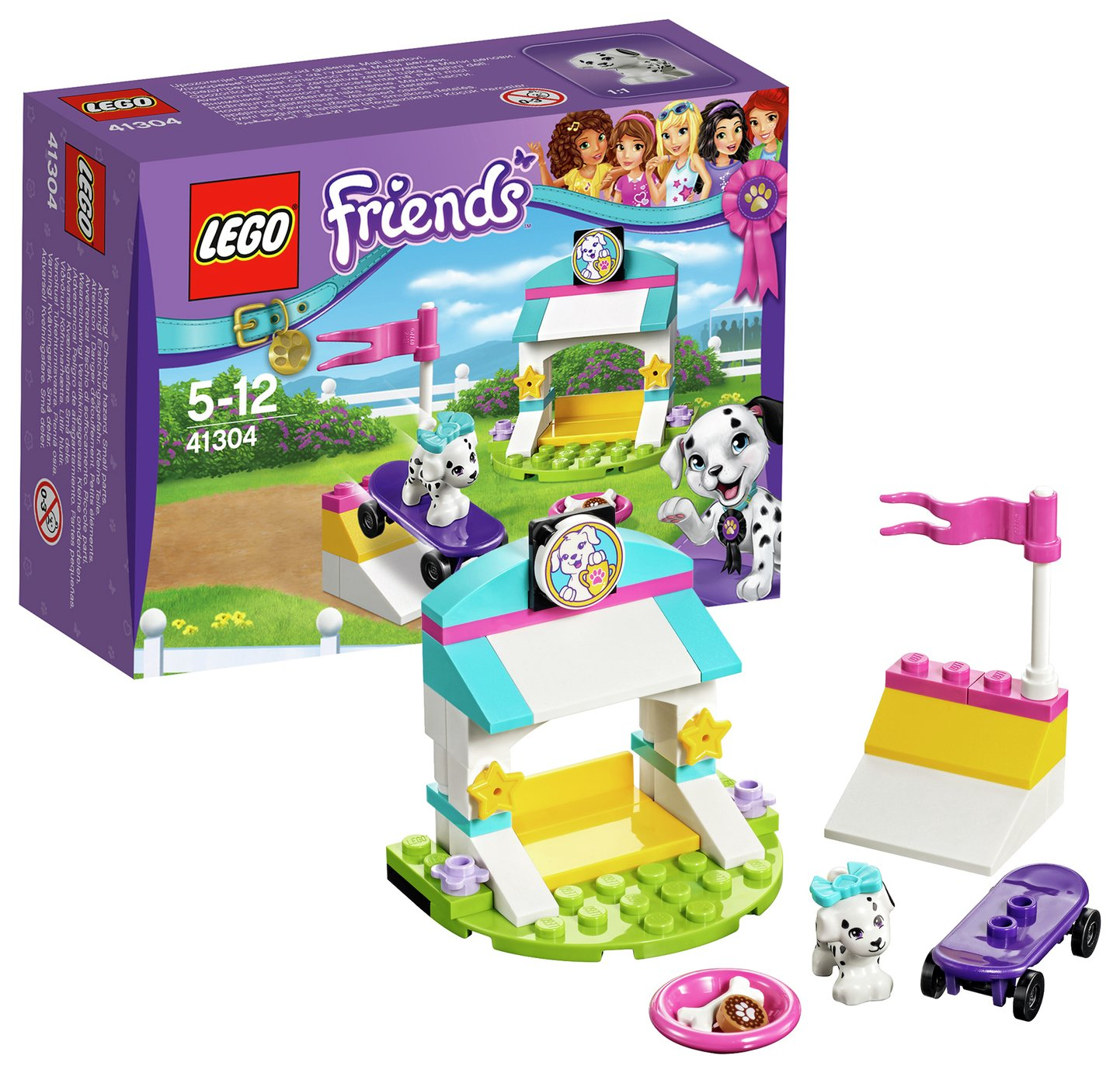lego friends puppy treats and tricks  41304
