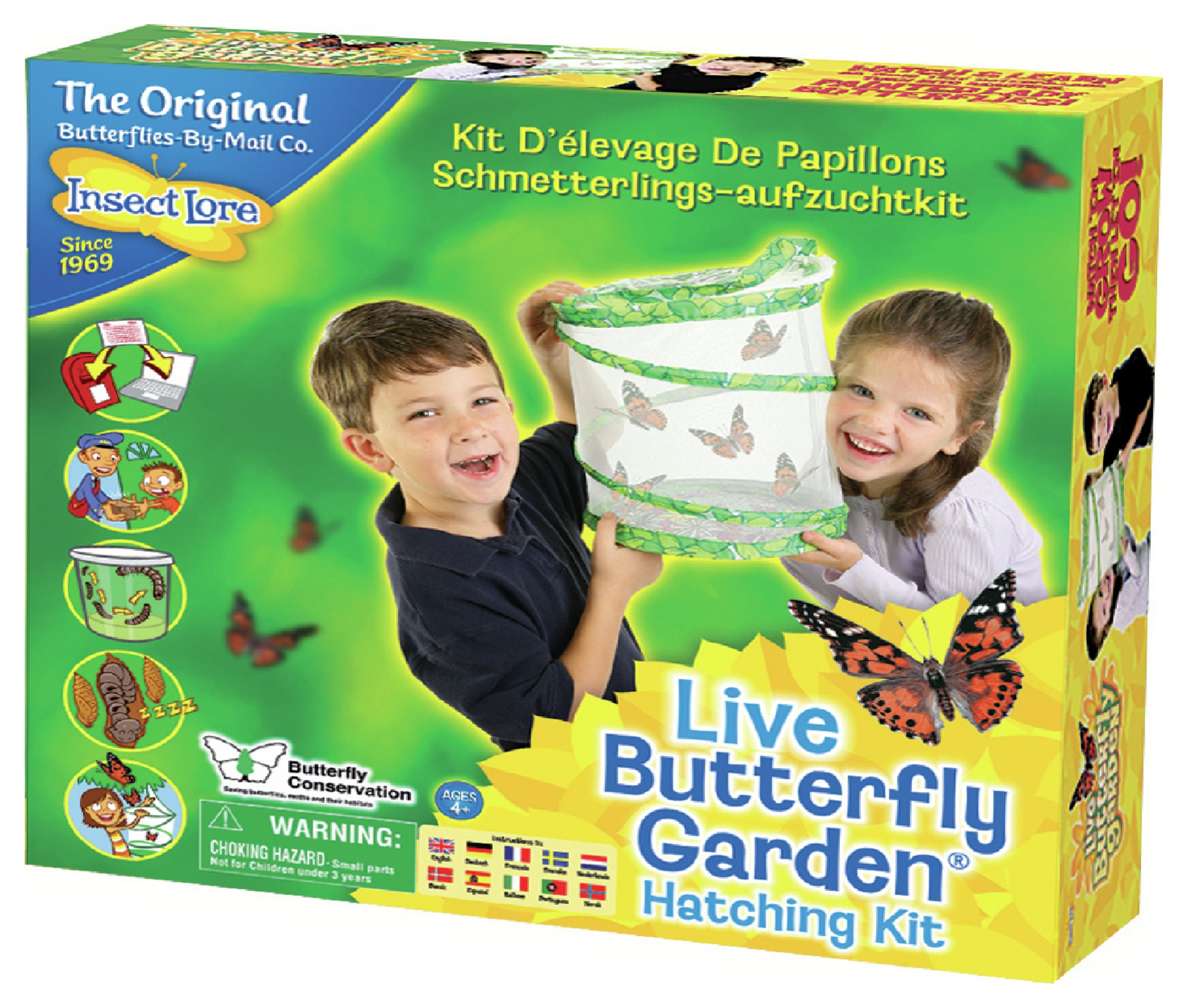 Insect Lore Live Butterfly Garden.