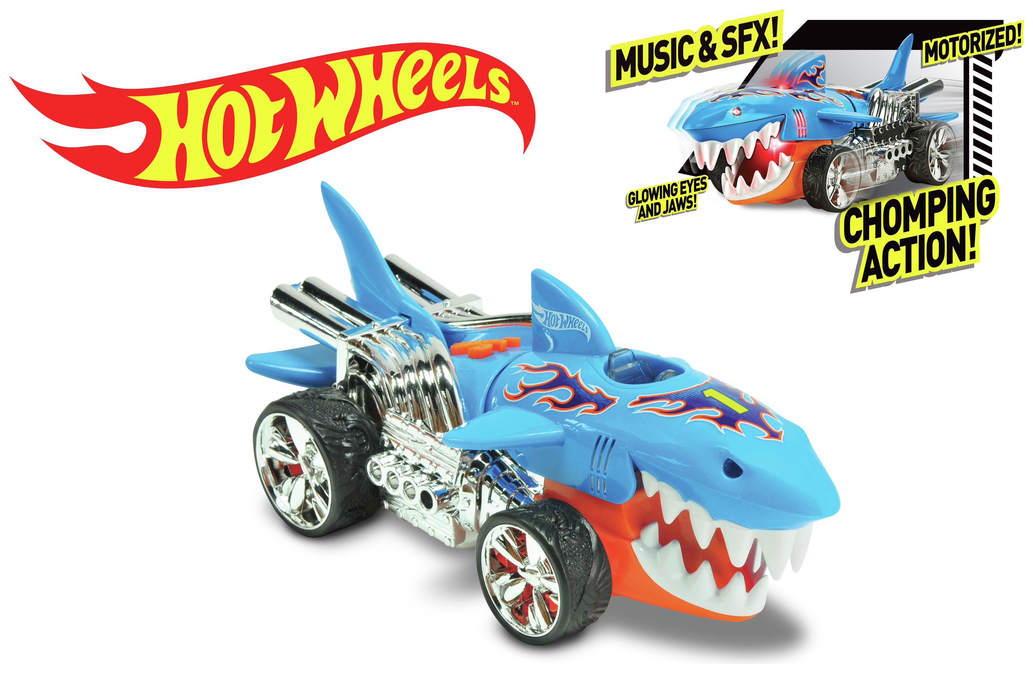 Image of Hot Wheels Extreme Action Sharkruiser Motorised Vehicle.
