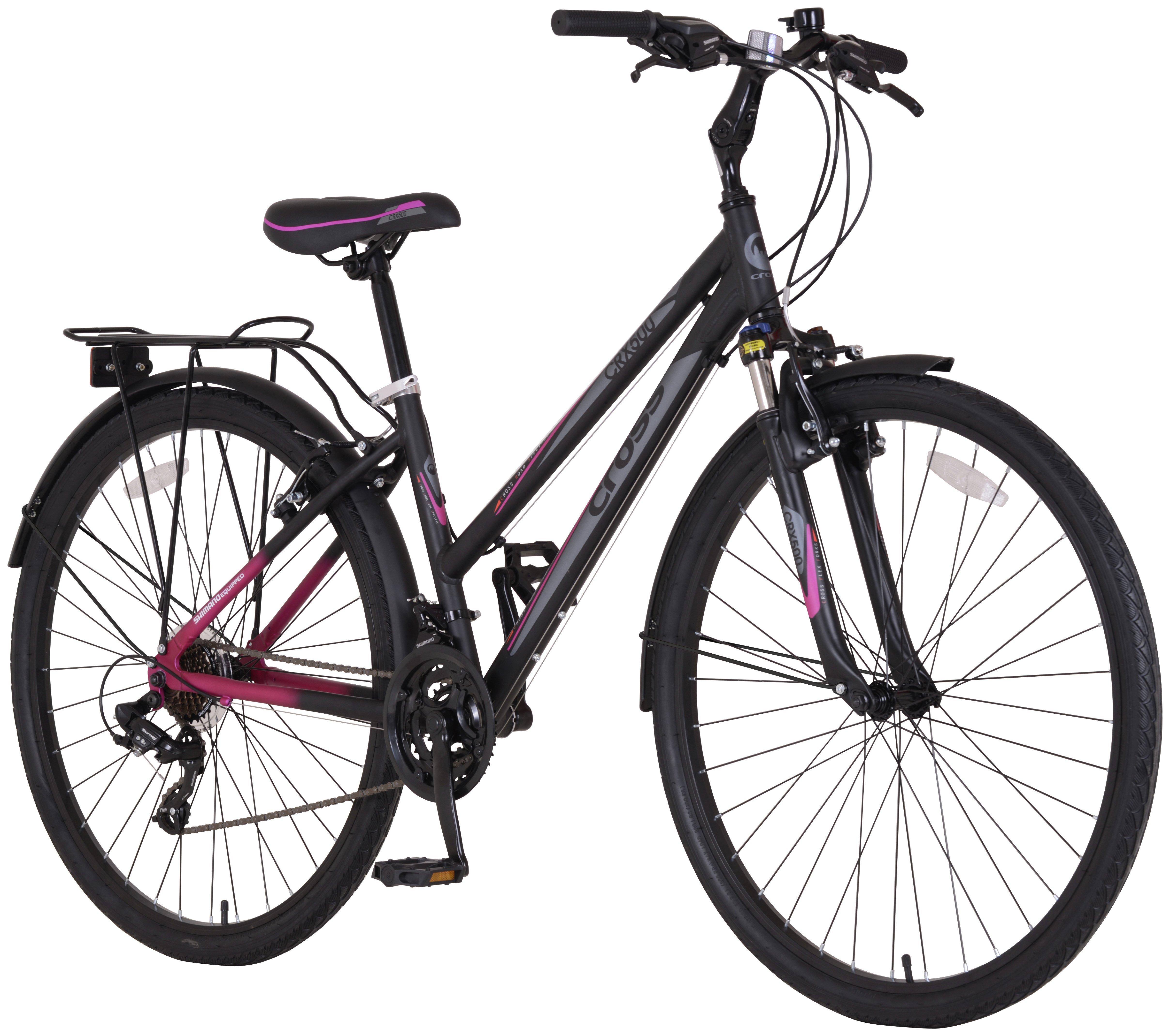 Image of Cross CRX500 700c Hybrid Bike - Womens
