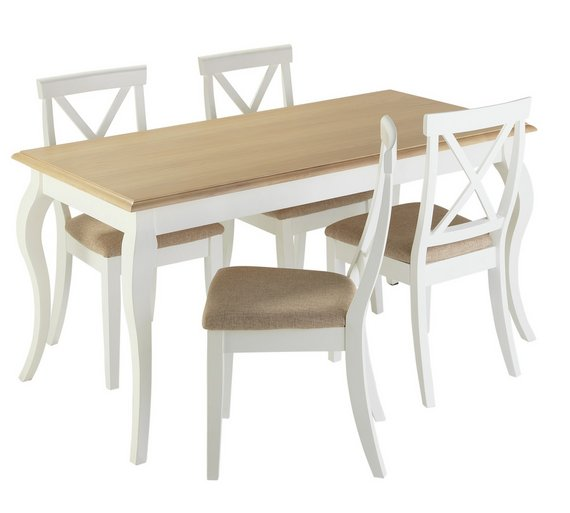 Collection Southwold Dining Table 4 Chairs