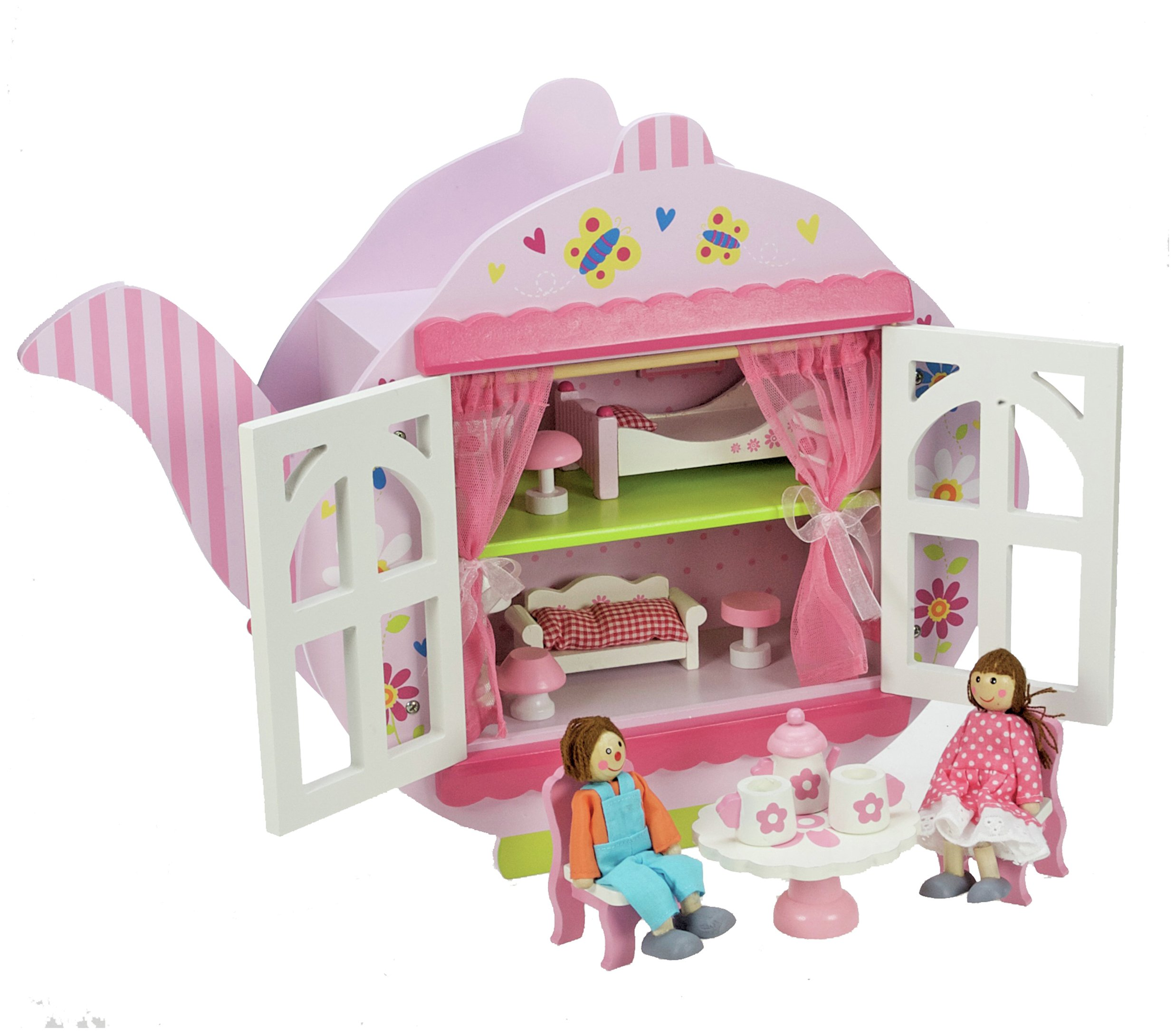 Image of Wooden Teapot Dolls House.