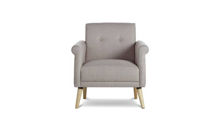 Habitat Evie Fabric Armchair in a Box - Natural