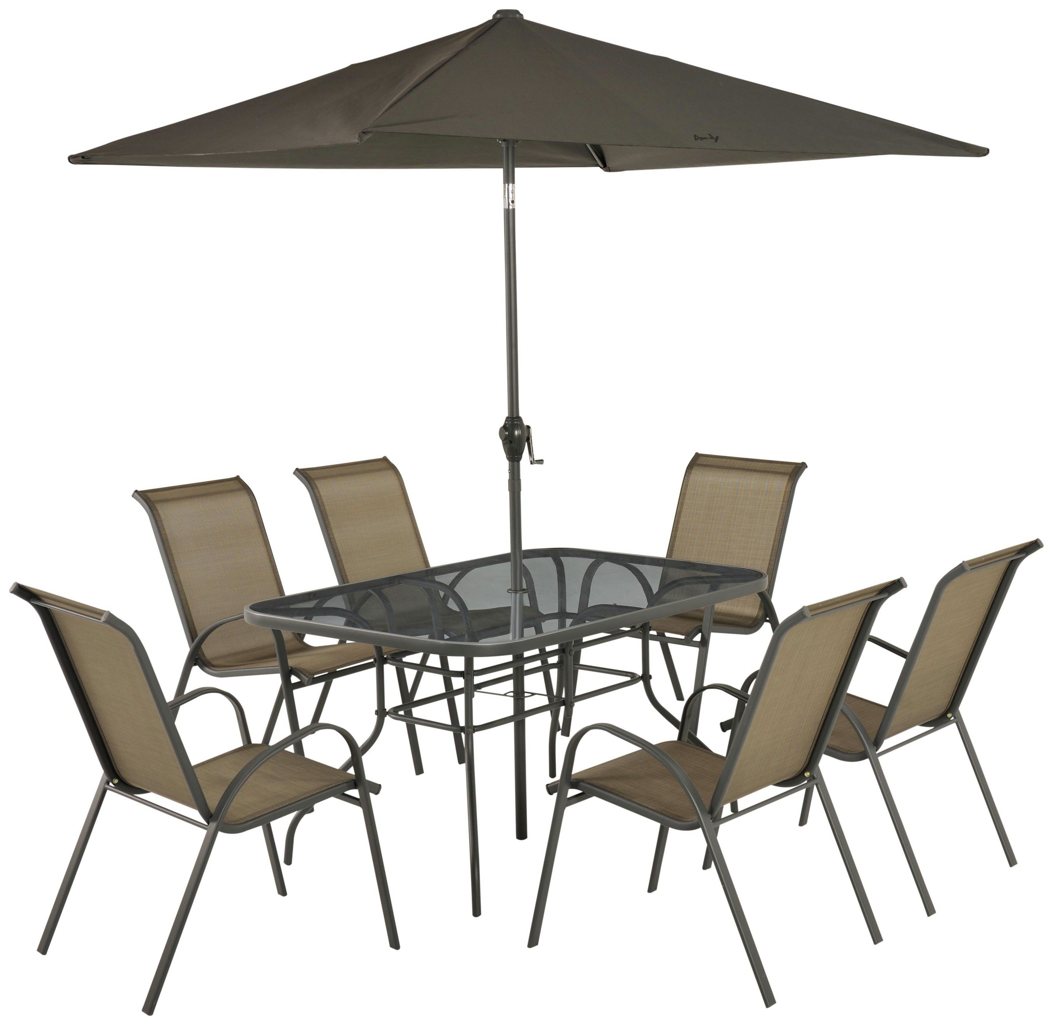 Buy Sicily Seater Patio Set Bronze At Argos Co Uk Your