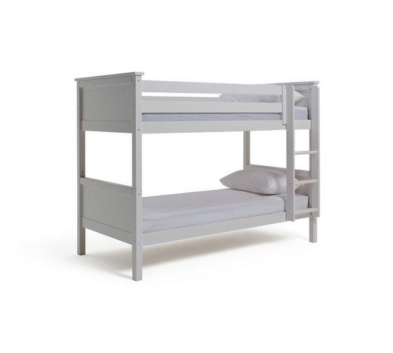 Buy Argos Home Brooklyn Bunk Bed Frame White Kids Beds Argos