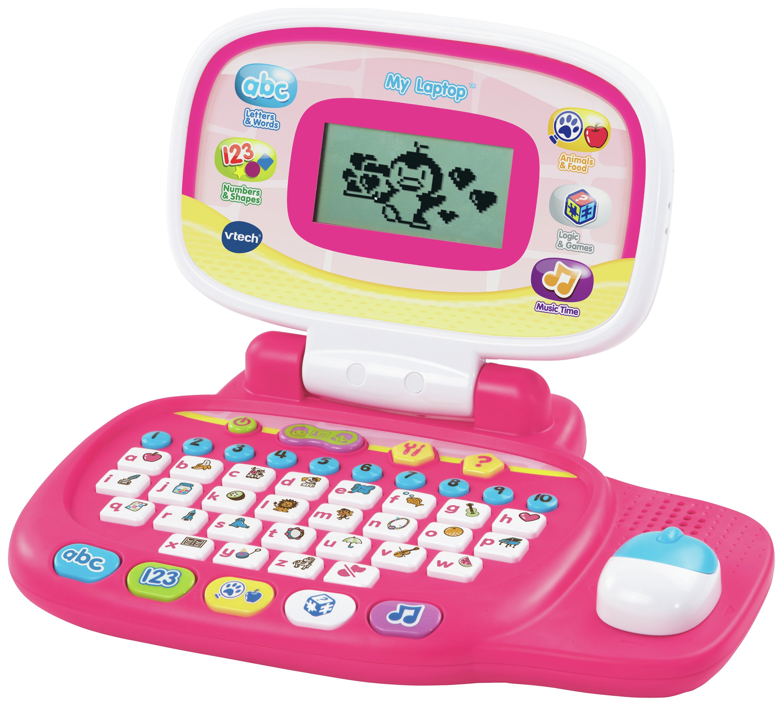 Image of Vtech My Laptop-Pink