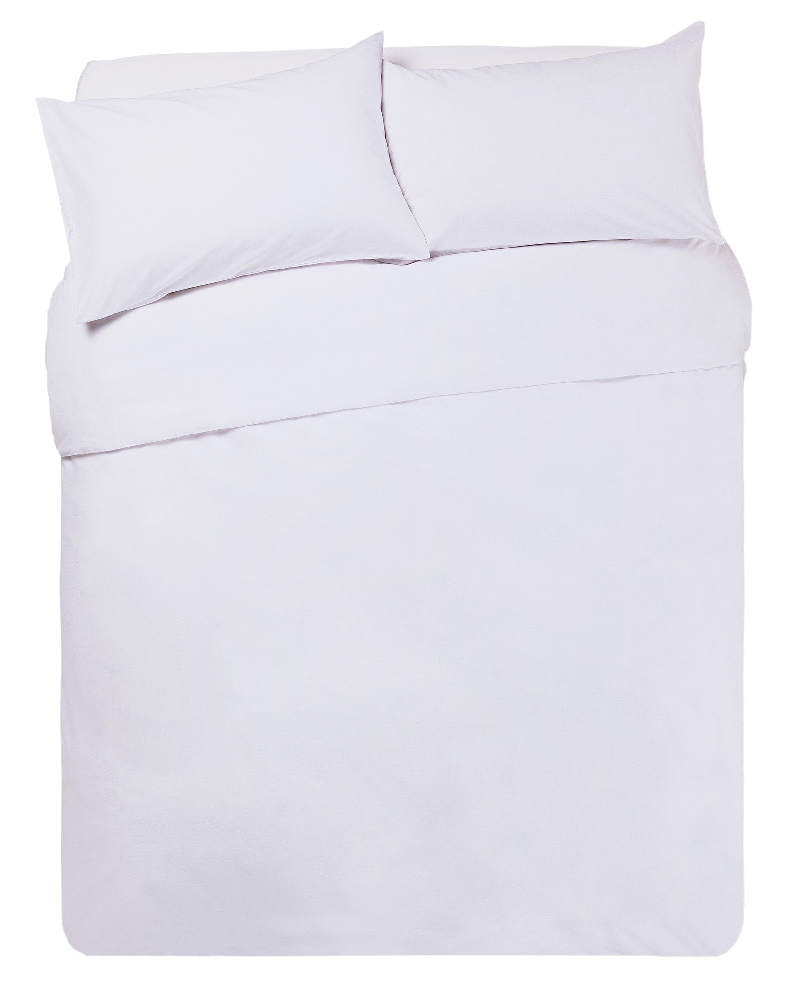 Argos Home Super White Bedding Set - Superking