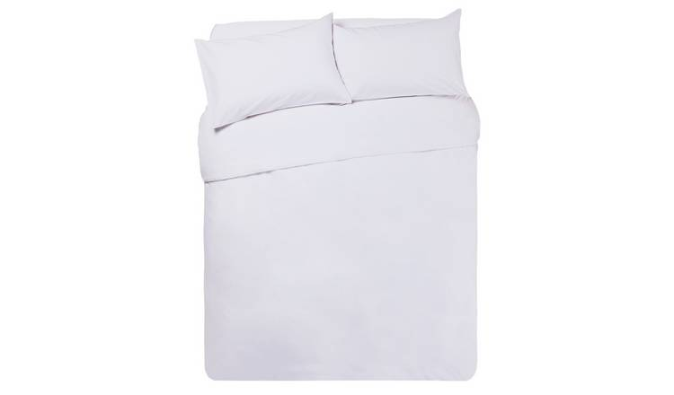 Buy Argos Home Super White Bedding Set Superking Duvet Cover