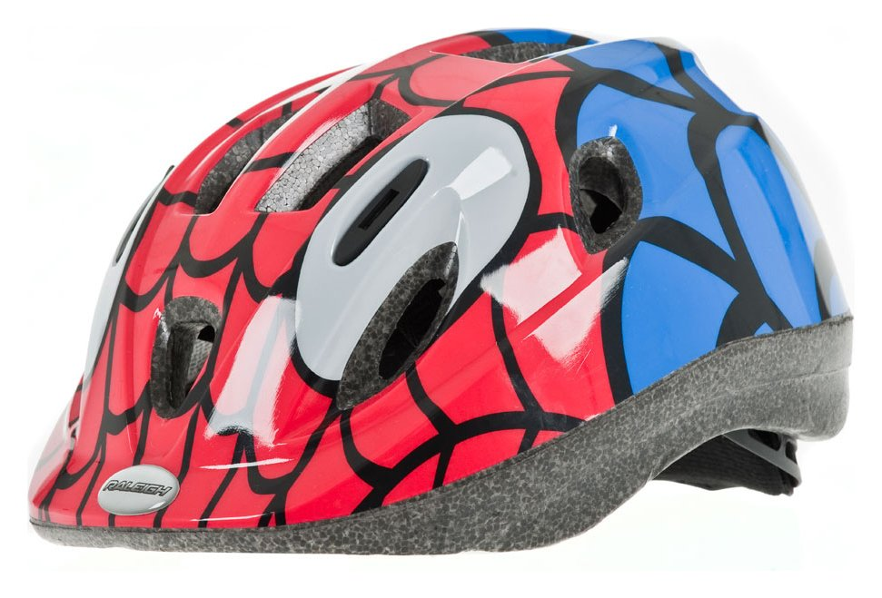 'Raleigh - Mystery 48-54cm - Bike Helmet - Spider-man