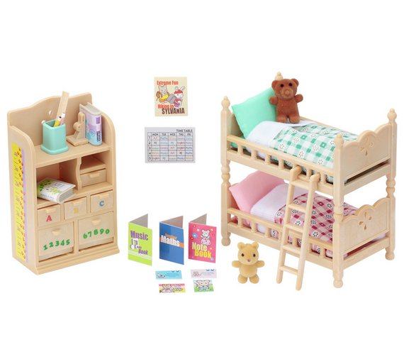 Kids Bedroom Furniture Kids Wooden Toys Online: Buy Sylvanian Families Children Bedroom Furniture At Argos