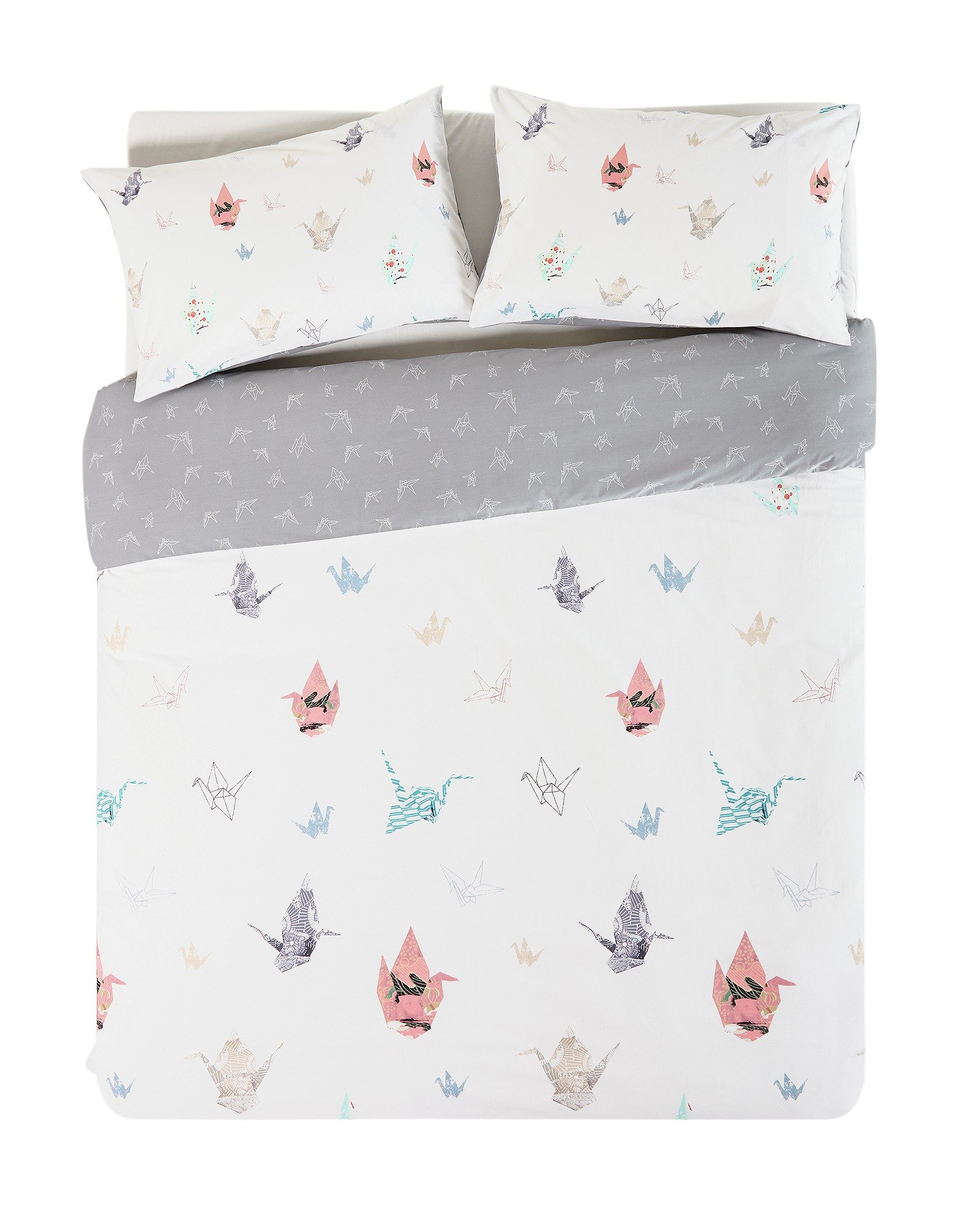 home paper cranes bedding set  double