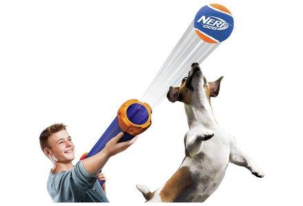 Nerf Dog Tennis Ball Blaster.