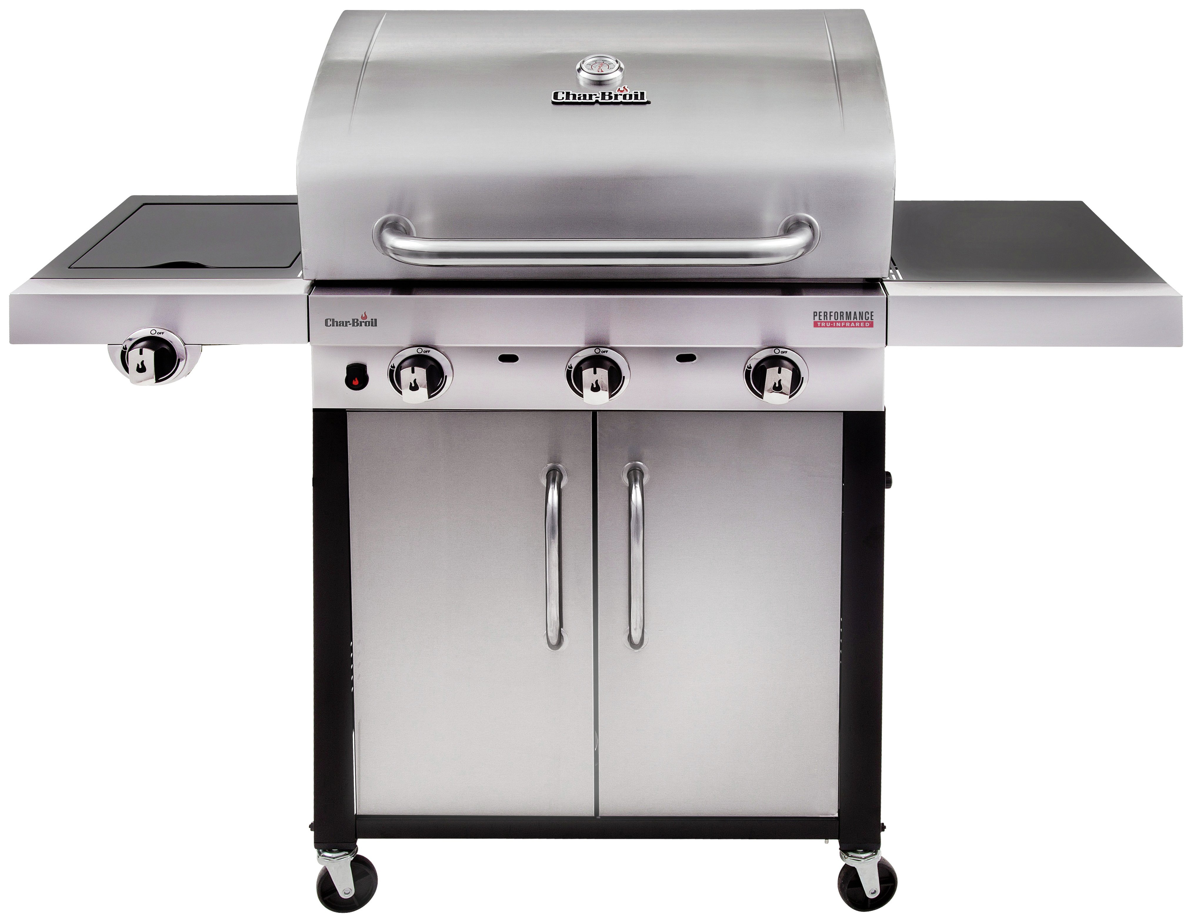 Image of Charbroil 3 Burner Tru Ired Stainless Steel - Gas BBQ