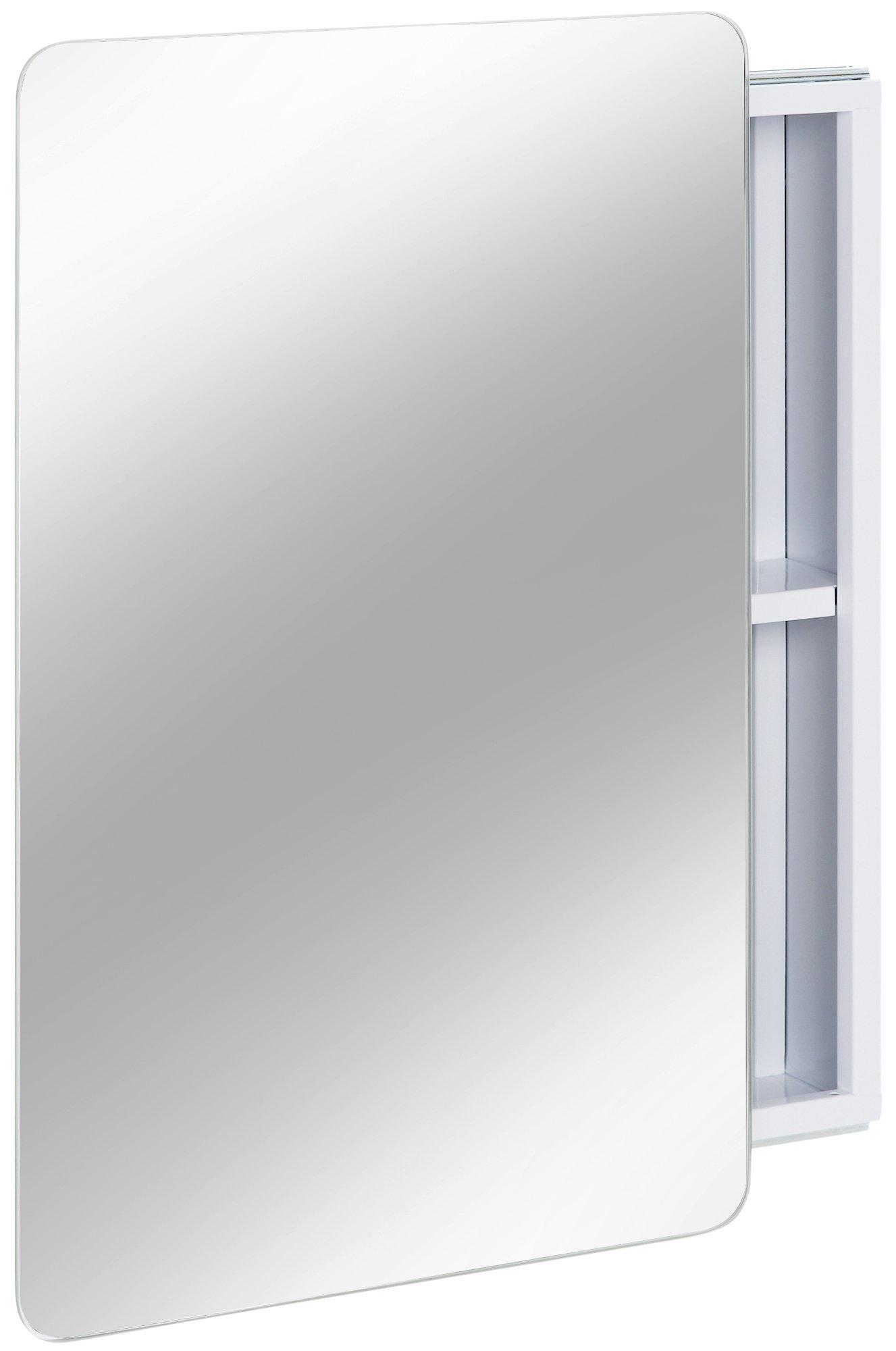 Argos Home Sliding Door Mirrored Bathroom Cabinet - White