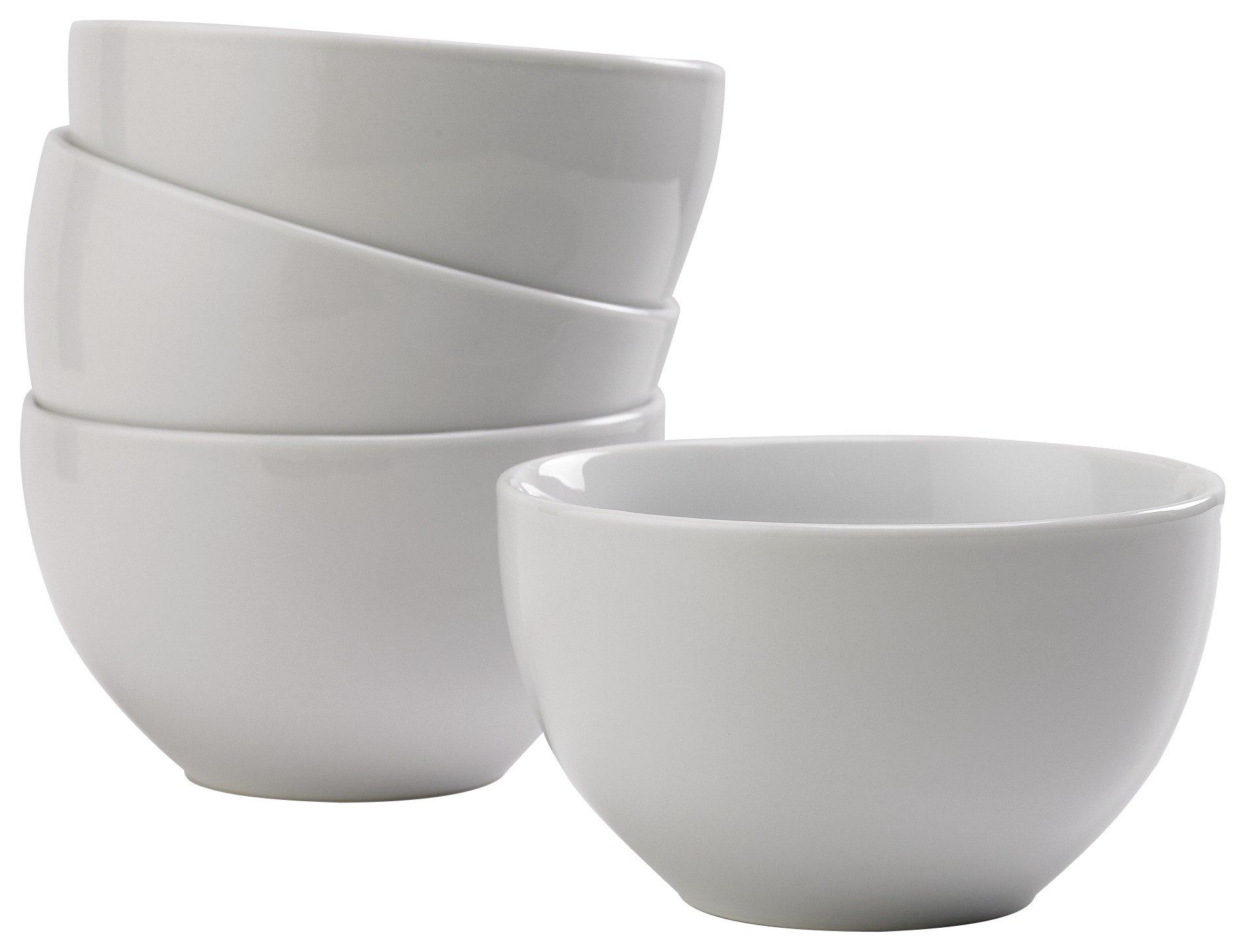 Argos Home Set of 4 Bowls - White
