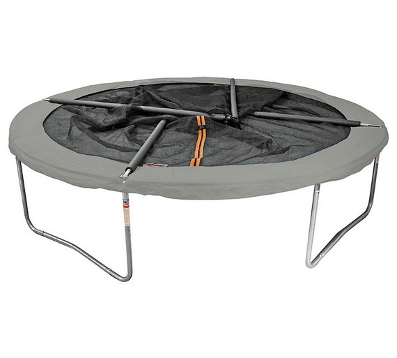 Buy Sportspower 14ft Trampoline With Folding Enclosure Trampolines