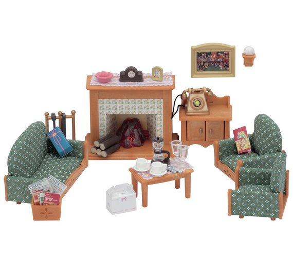 sylvanian families deluxe living room set. beautiful ideas. Home Design Ideas