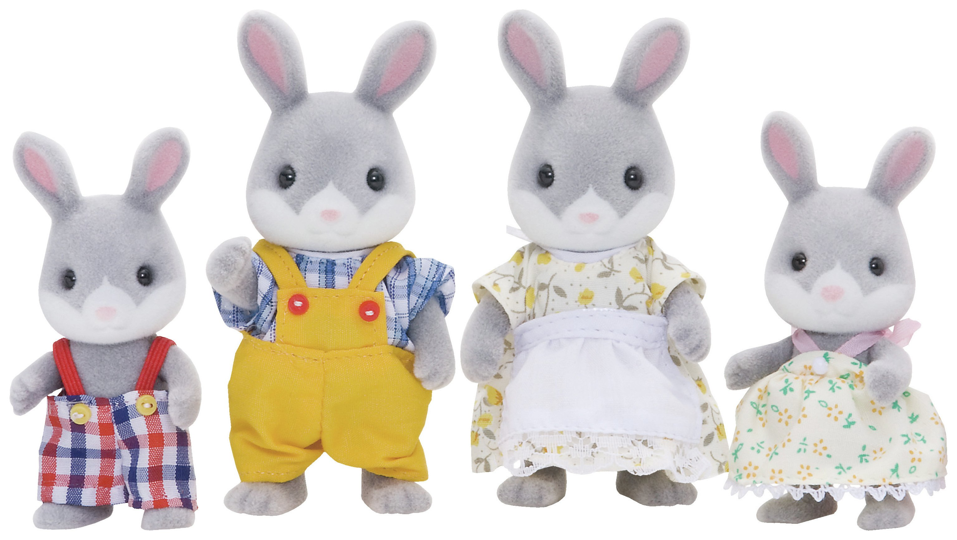 Sylvanian Families Cottontail Rabbit Family.