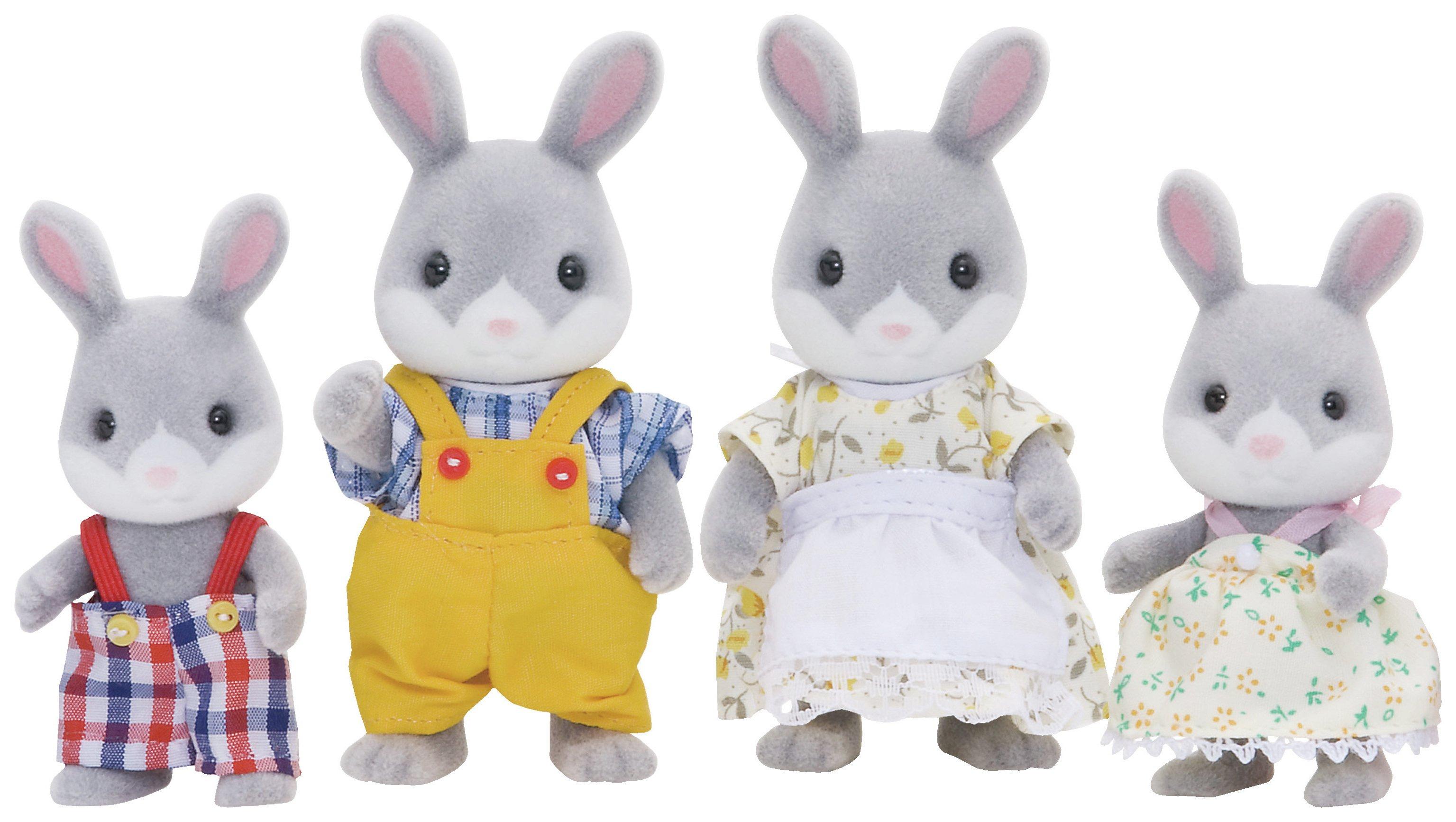 'Sylvanian Families Cottontail Rabbit Family.
