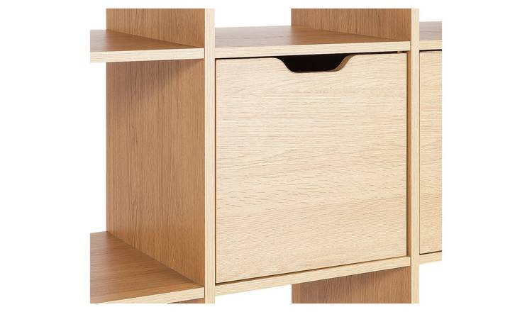 Habitat Squares Plus Door Fitting - Oak Effect