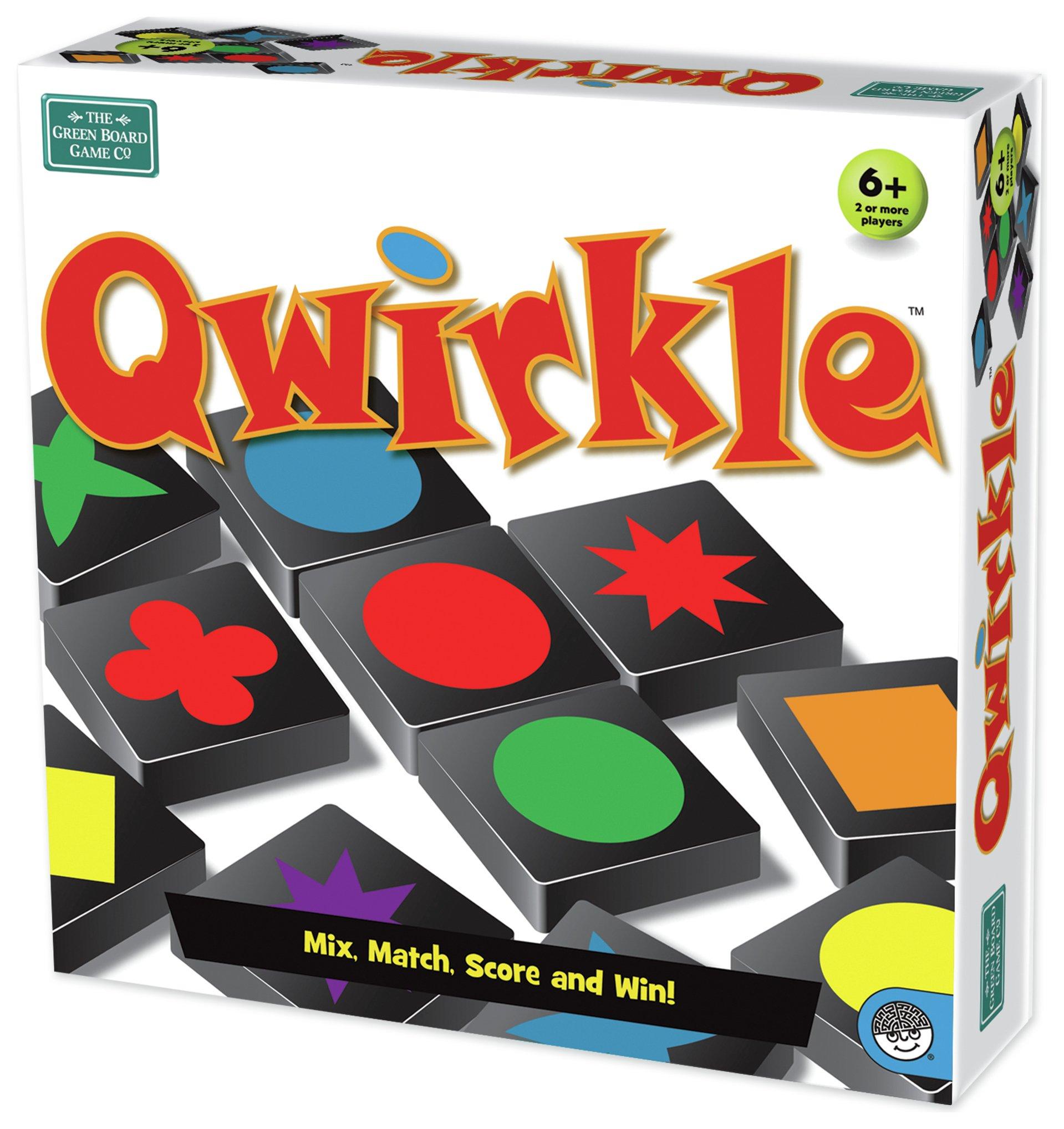 Image of Green Board Games Qwirkle