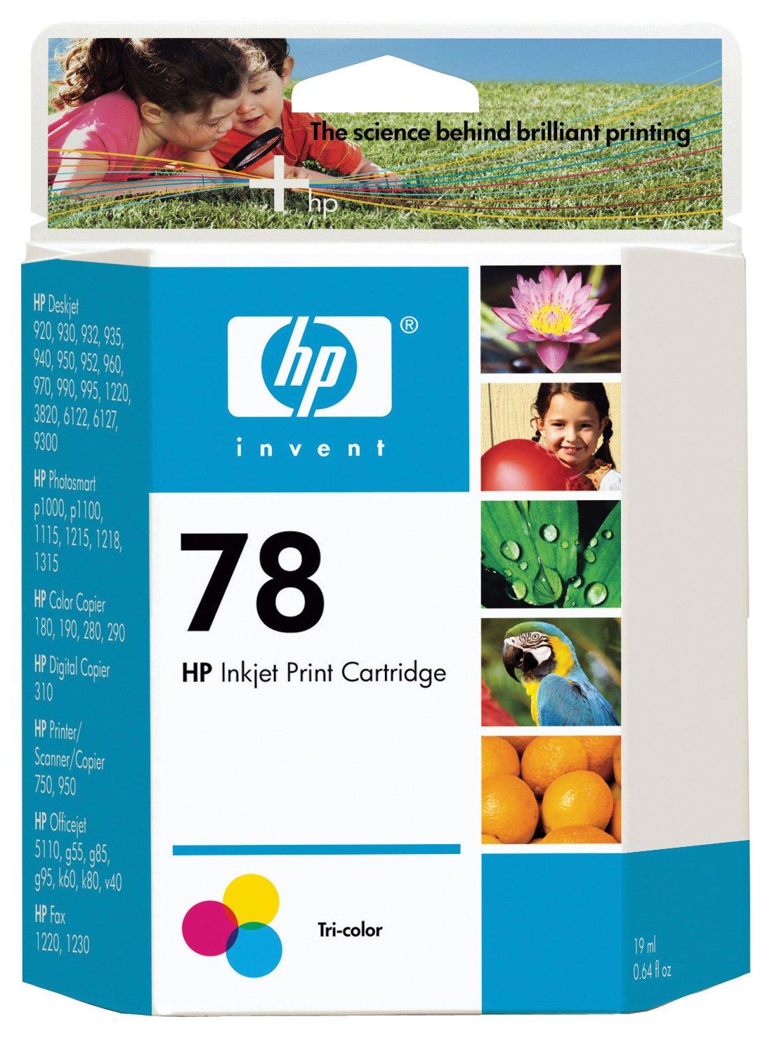 HP HP 78 Tri-colour Original Ink Cartridge (C6578D).