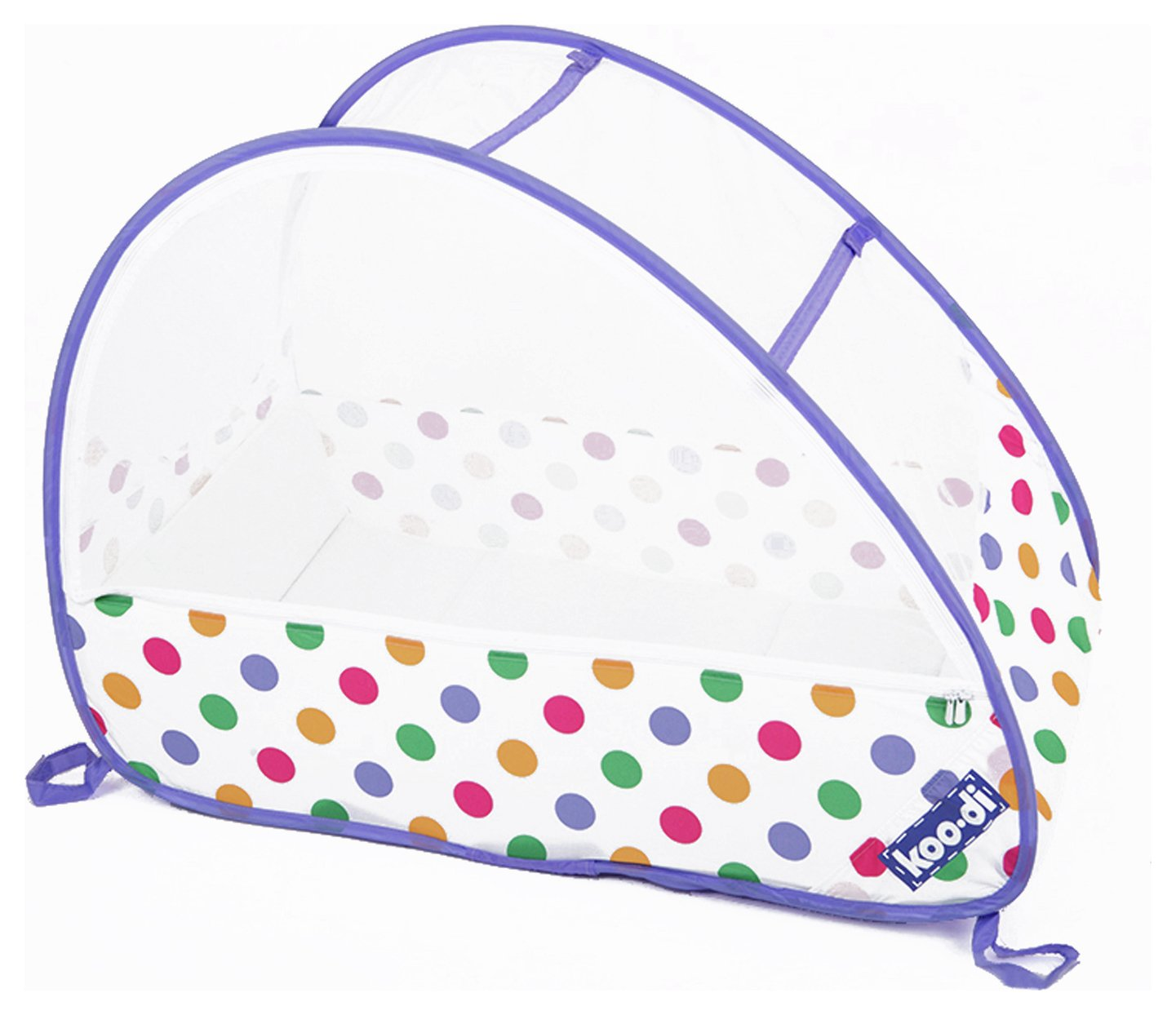 Image of Koo-di - Pop-Up Bubble - Travel - Cot - Polka Dot