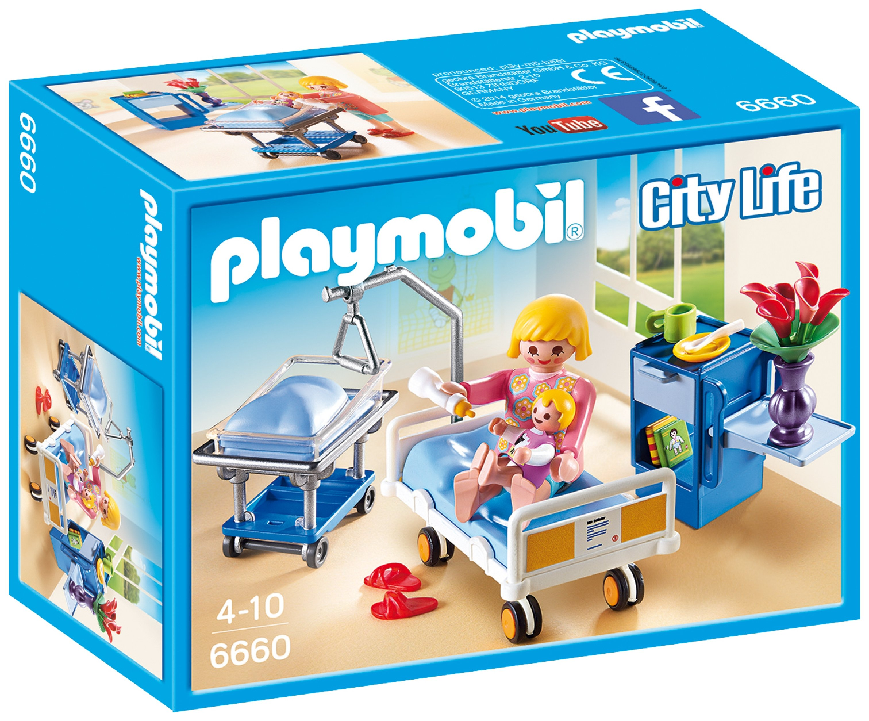 Playmobil 6660 City Life Maternity Room.