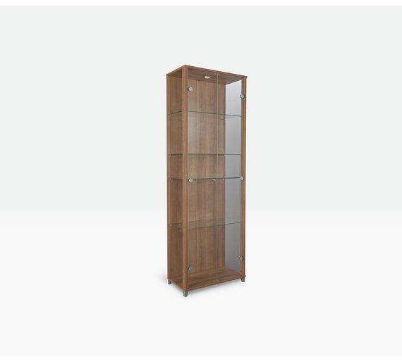 Buy Argos Home 2 Glass Door Display Cabinet