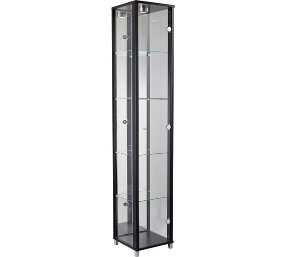 HOME Single Door Glass Display Cabinet