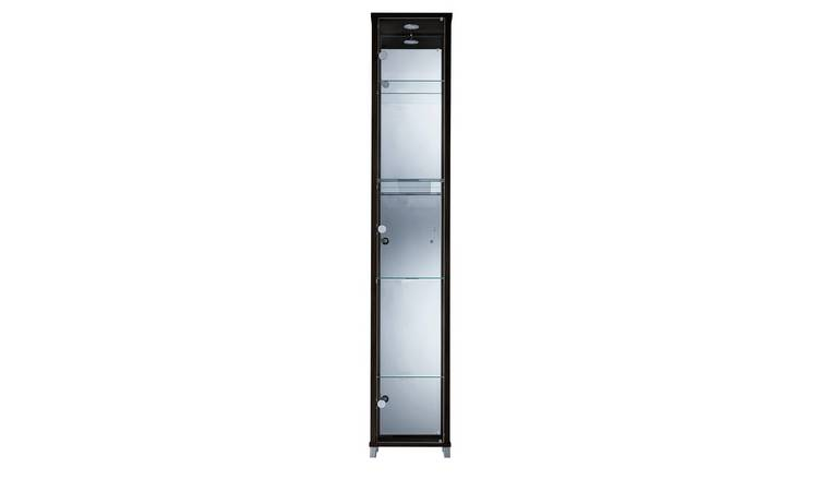 Argos Home 1 Glass Door Display Cabinet - Black