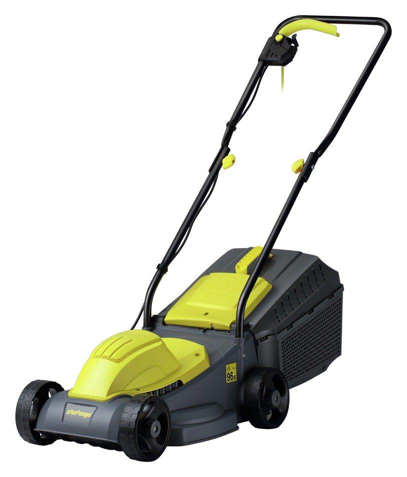 Challenge 31cm Corded Rotary Lawnmower - 1000W