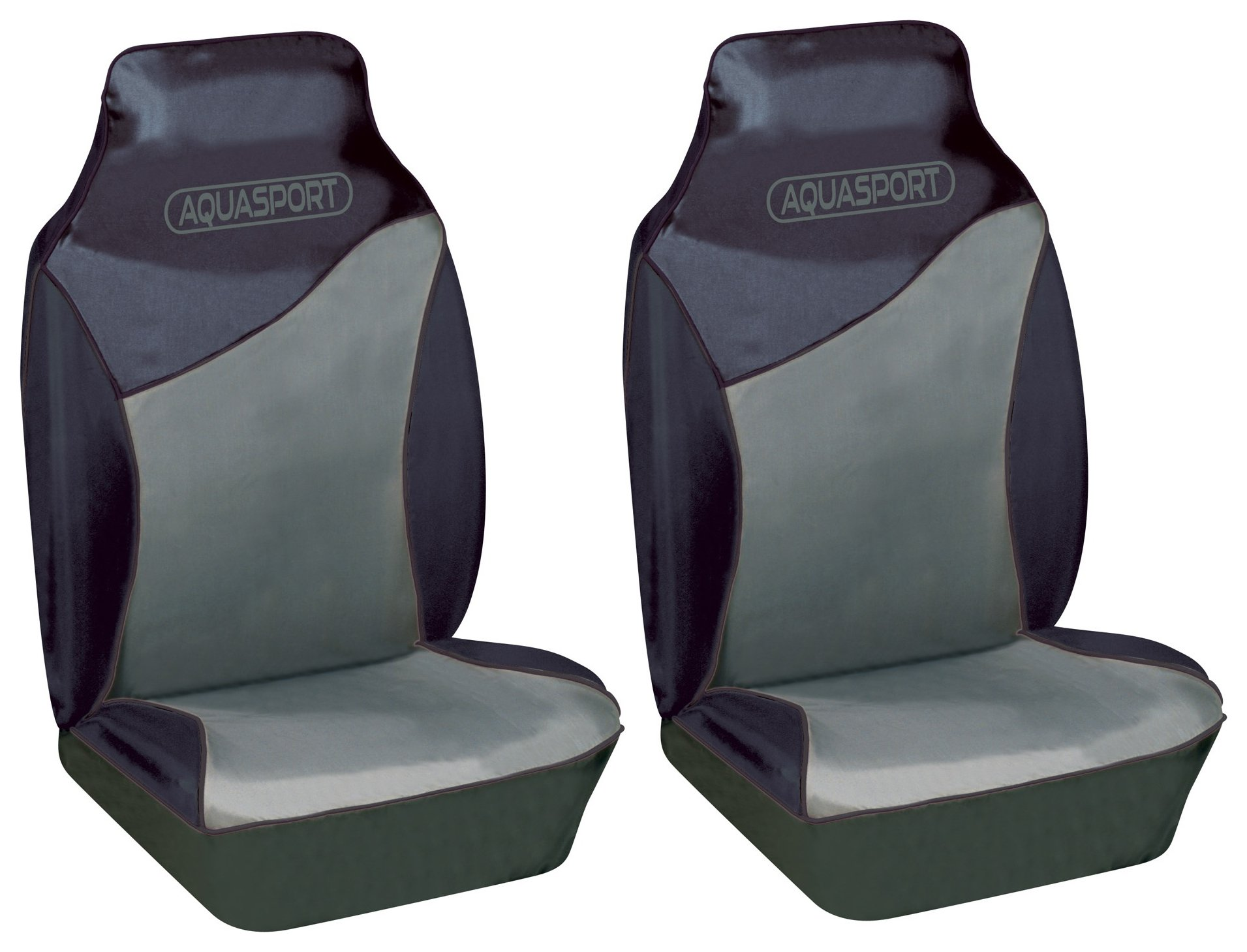 Image of Cosmos - Aquasport Water Resistant Front Seat Covers - Grey