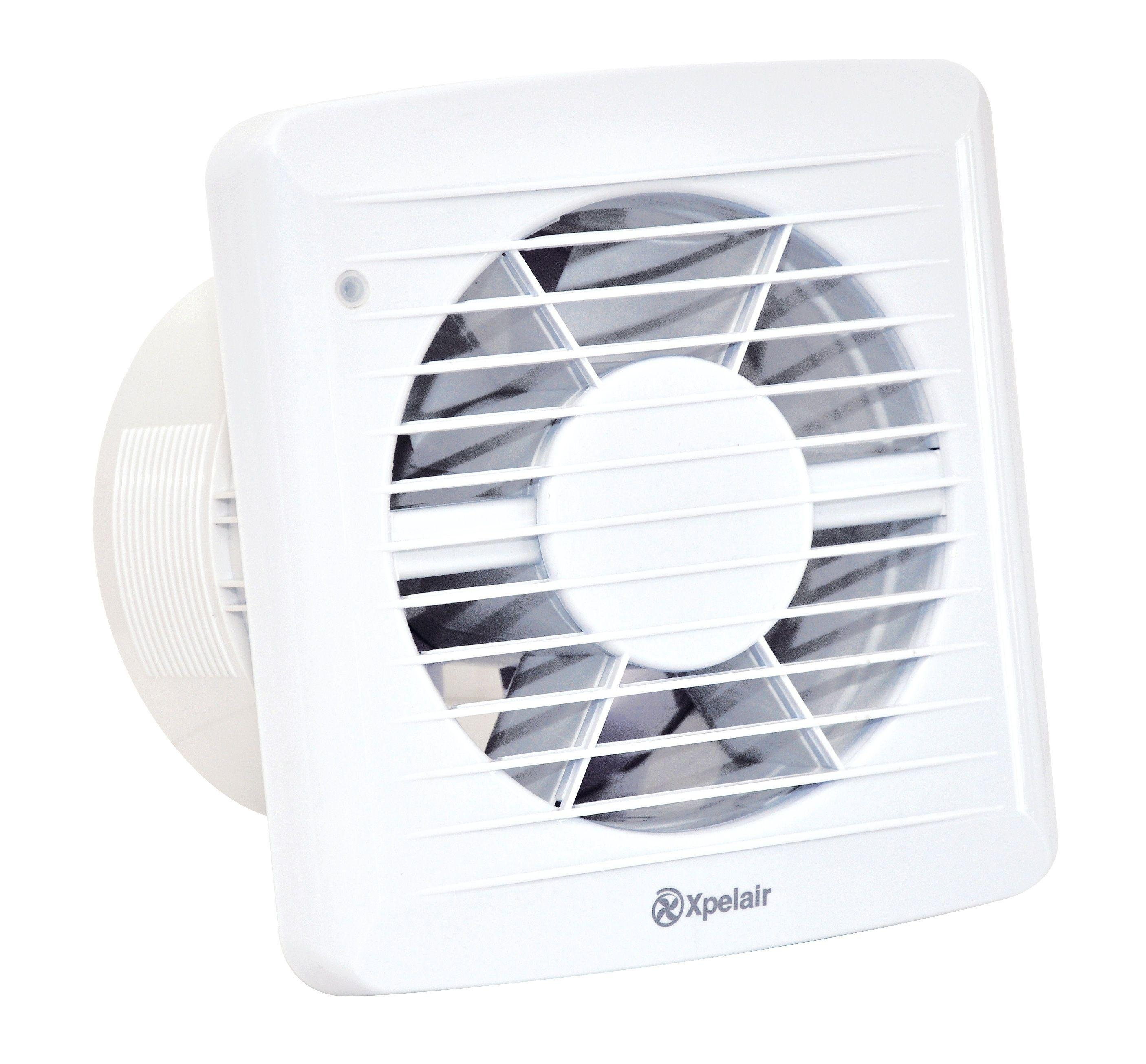 Xpelair 6 Inch Kitchen Extractor Fan With Humidistat Timer