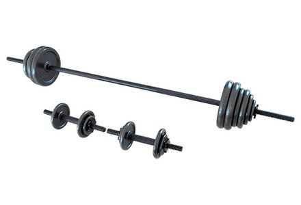 Opti Cast Bar Dumbbell Set - 50 Kg.