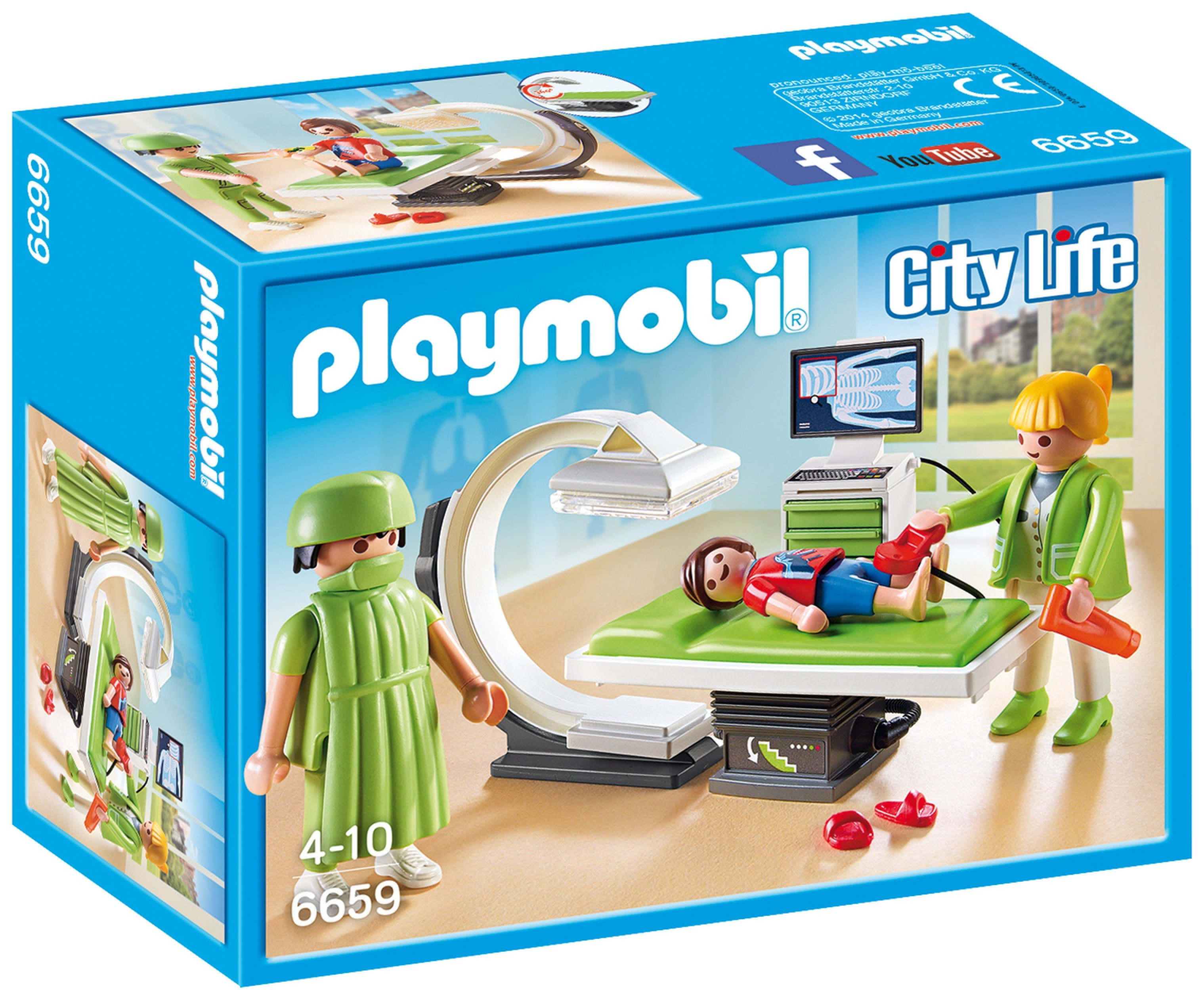 Playmobil 6659 City Life X Ray Room.