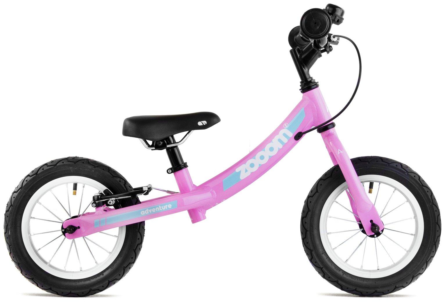 Image of Adventure Zooom Balance Bike - Pink.