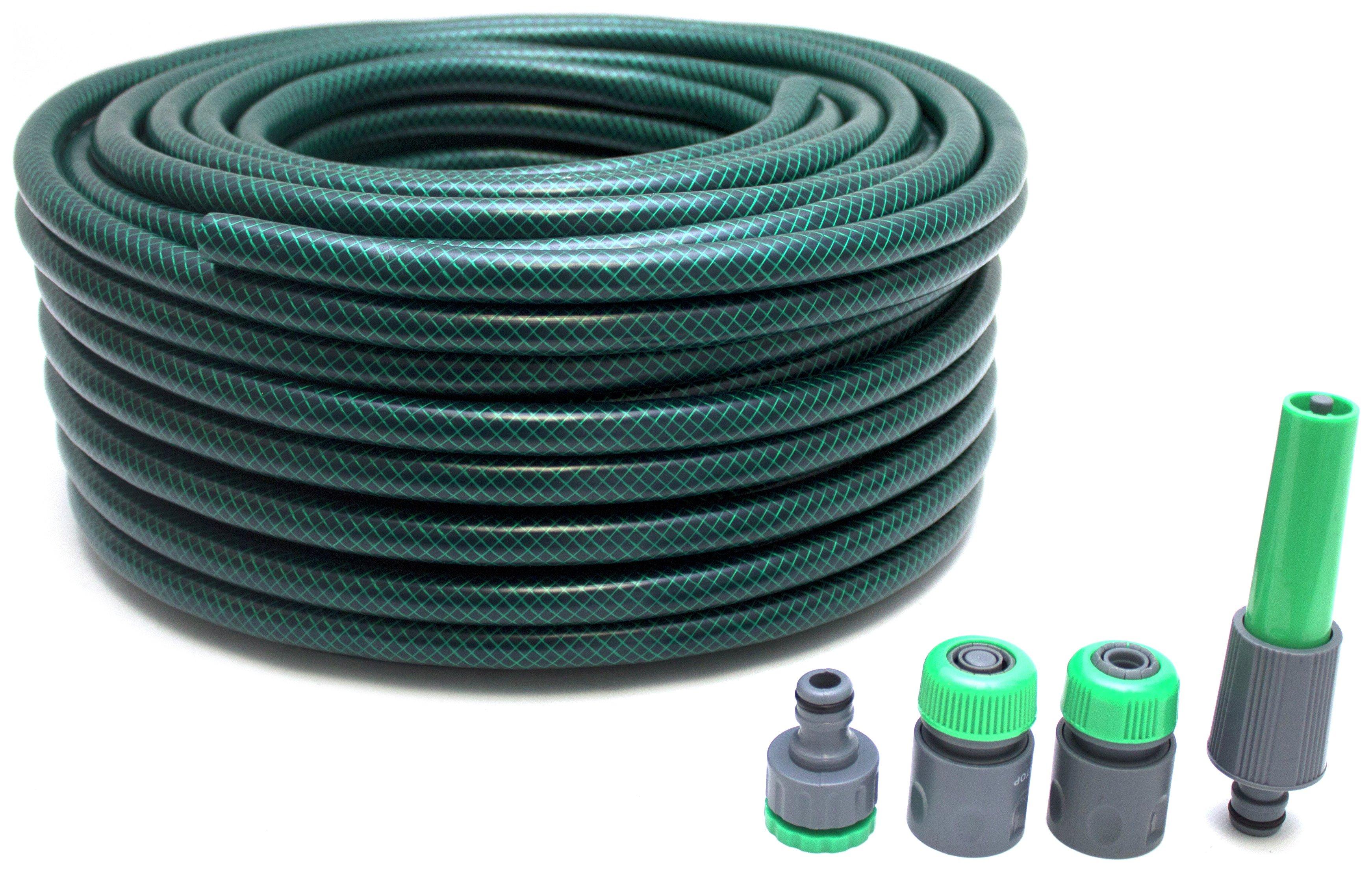 Hose with 4 Connectors - 50m