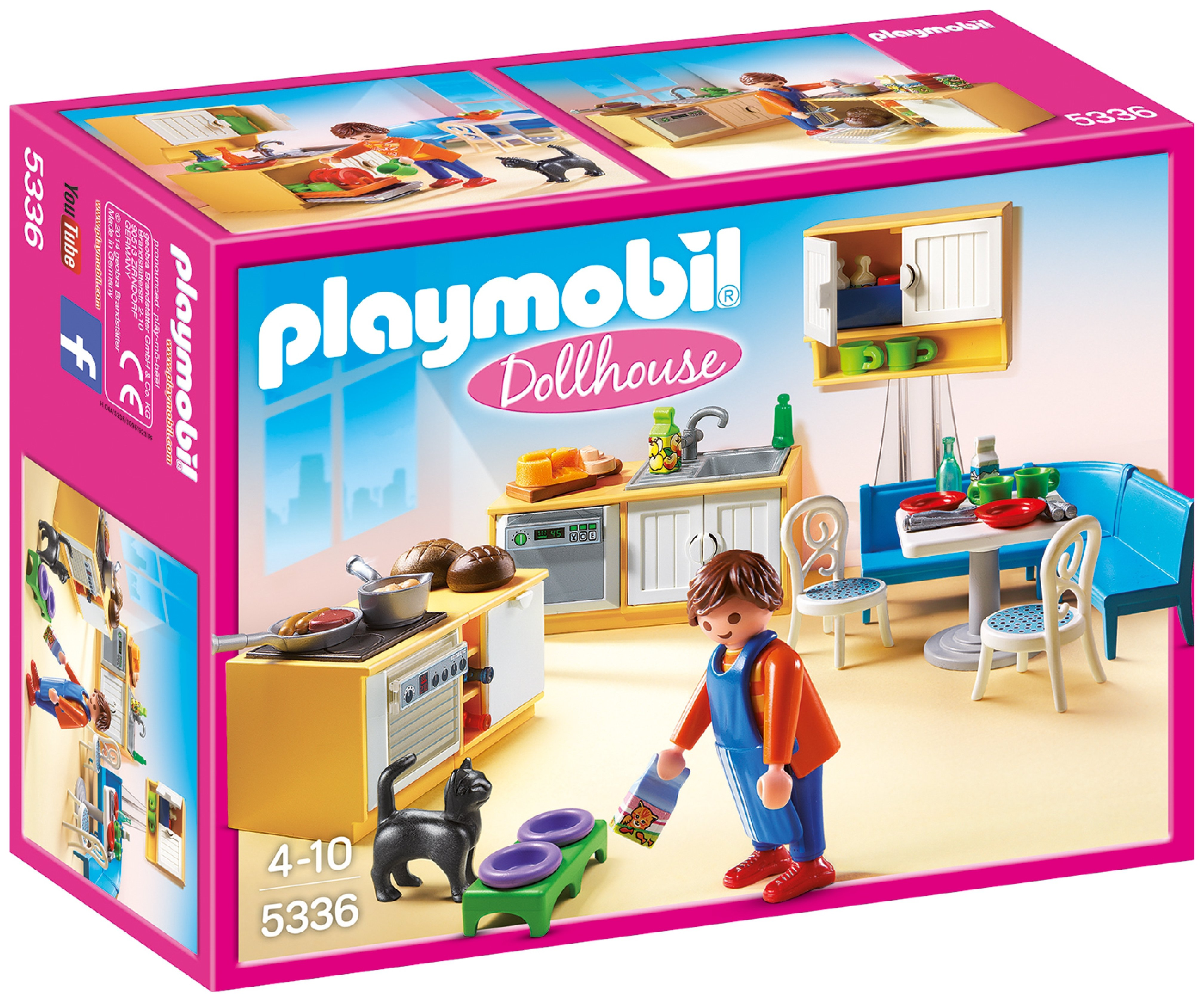 Playmobil 5336 Dollhouse Country Kitchen.