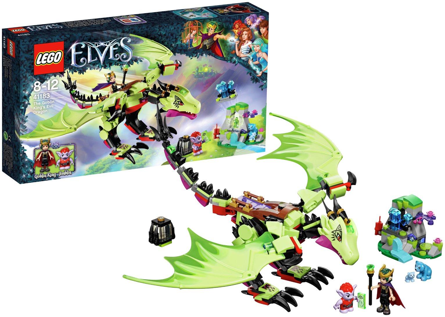 LEGO Elves The Goblin King's Evil Dragon - 41183