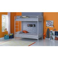 Collection - Archie Heavy Duty Bunk Bed - Light Grey