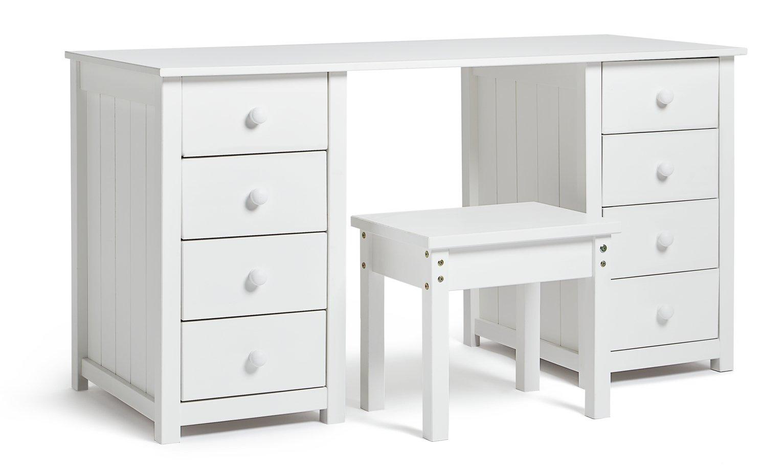 Argos Home New Scandinavia Dressing Table - White