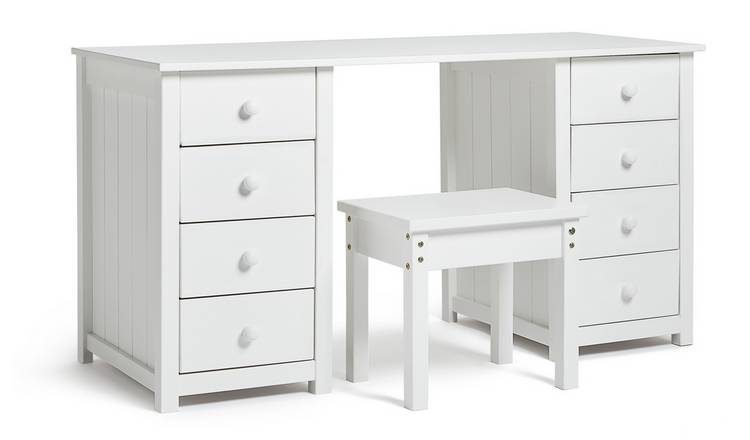 White Vanity Table With Drawers.Buy Argos Home New Scandinavia Dressing Table White Dressing Tables Argos